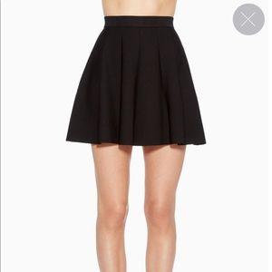 Parker Zoe Knit Skirt Size Small Black Women's